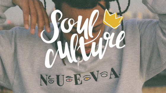 Wild NUEVA at a Soul Culture shoot.