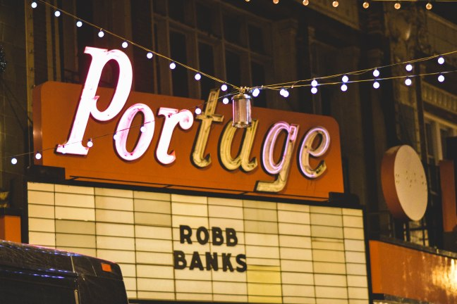 Portage Theater Marquee Robb Bank$