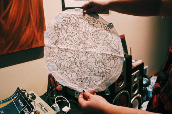 Stitch Gawd Rough Sketch
