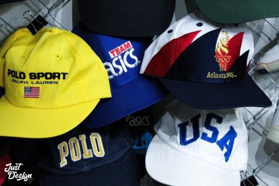 vintage hats at naptown thrift pop-up