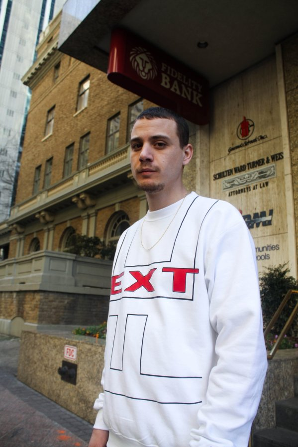 David Piper in Full Clip's Private School Crewneck