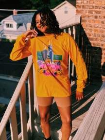 Midwest in Bloom - Gold Long Sleeve