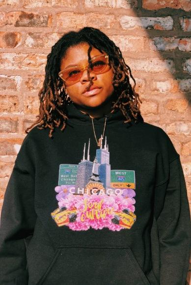 Midwest in Bloom Soul Culture Black Hoodie