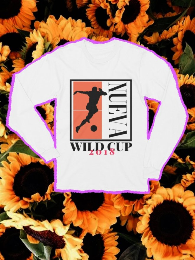 Wild NUEVA Wild Cup Collection - Long Sleeved Tee