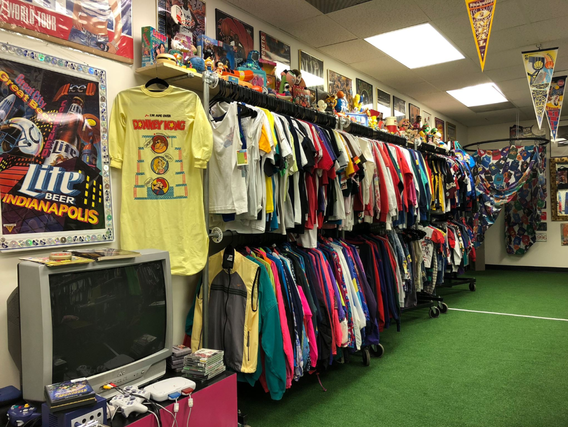 Inside Naptown Thrift
