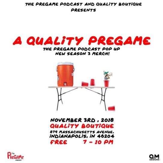 A Quality Pregame Promo