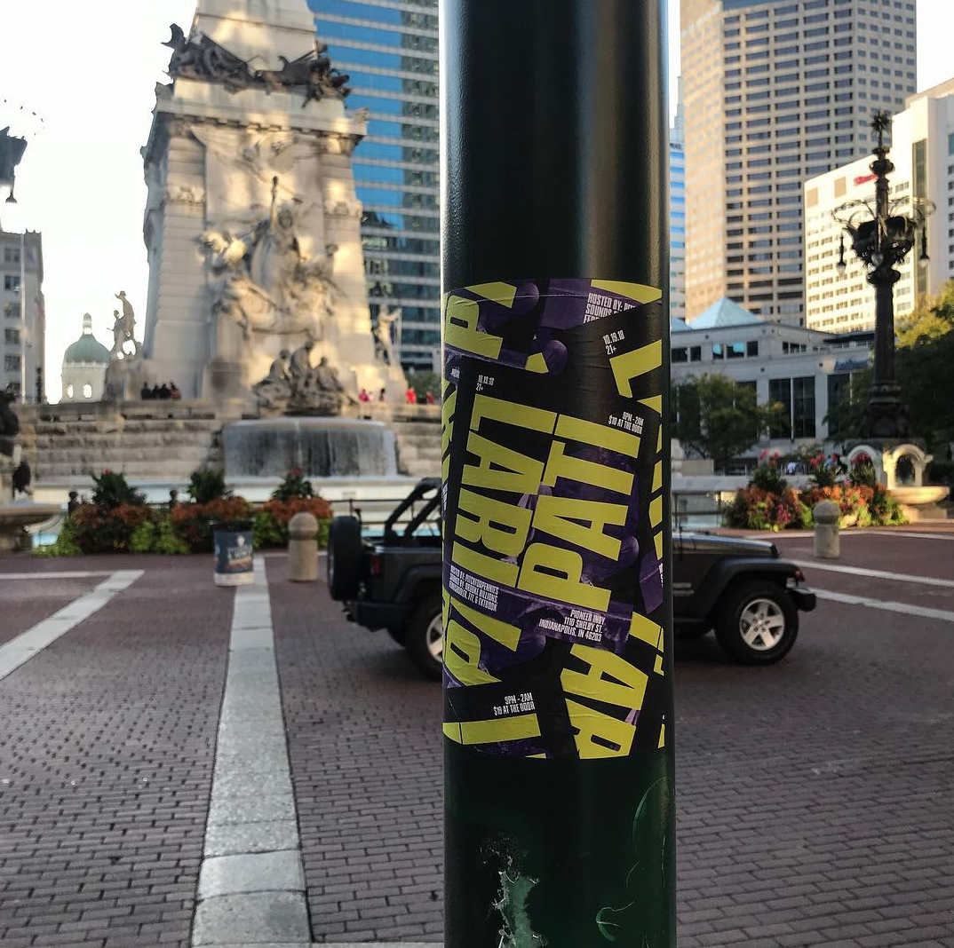 Lari Pati Flyer in Monument Circle